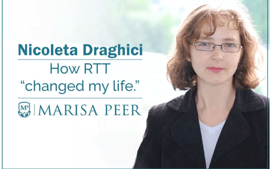 "Nicoleta Draghici on how RTT ""changed my life"""